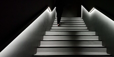 Jill Shaw - Stairs in the NGV