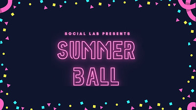 27.03 Social Lab Ball 2021 - Summer Ball