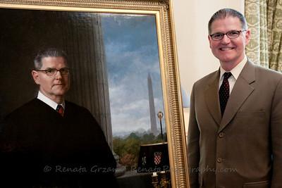 Judge Damich Portrait Unveiling