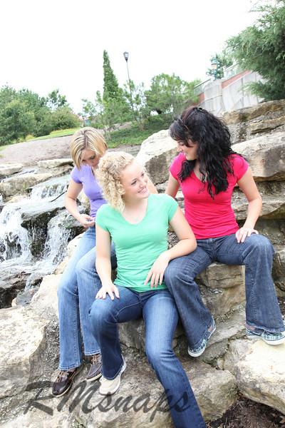 Chelsea, Molli, and Anna
