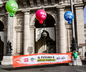 union rights demonstration rome 8 june 2019