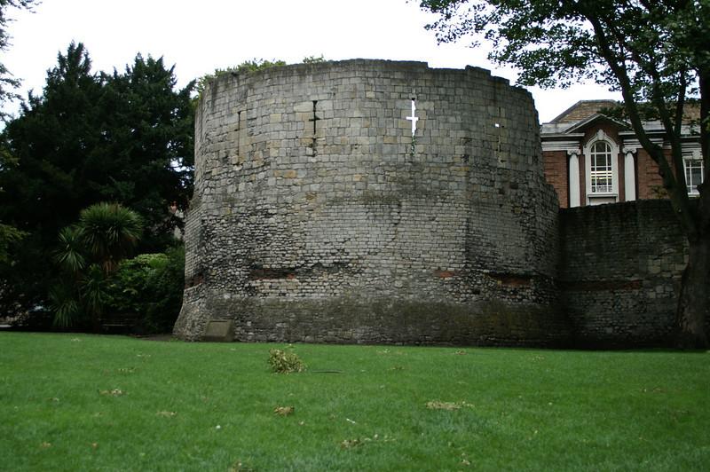 Roman tower, York