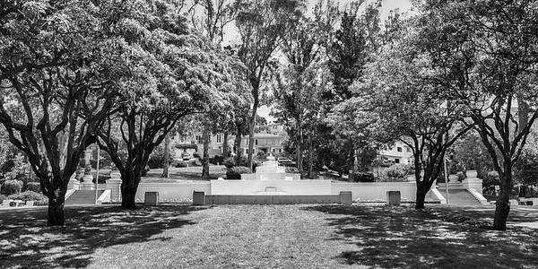 Saint Francis Wood - fountain
