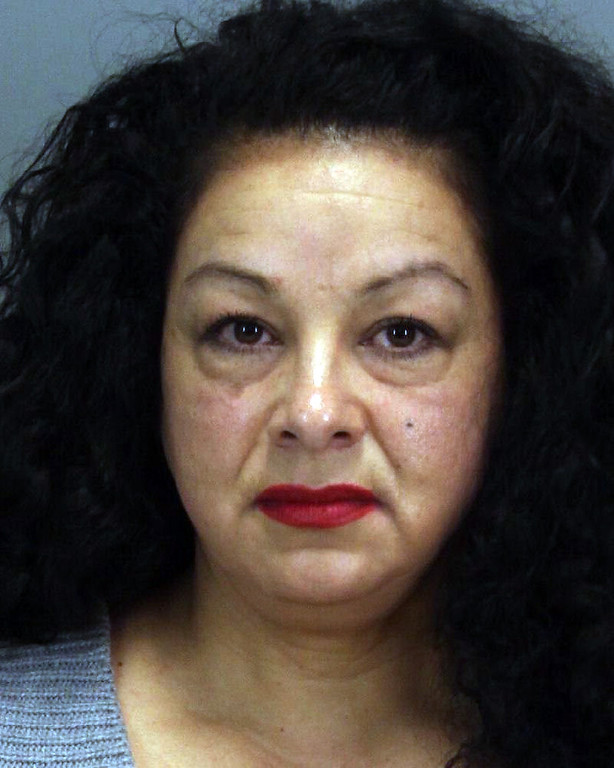 . Anna Ayala, the mastermind behind the infamous Wendy\'s chili finger scam, is back in jail on charges she filed a false police report involving her son. (Santa Clara County Sheriff\'s Office)