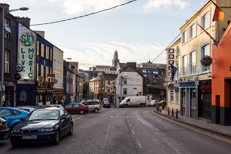 Coburg Street and Shandon Church