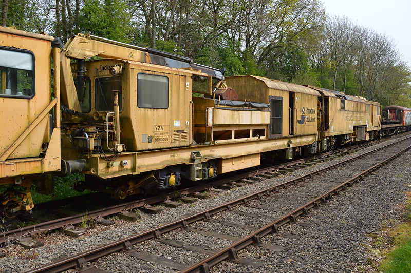 YZA Stone Blower DR80200 at Thuxton Sidings MNR.