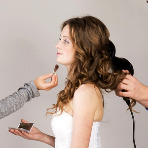 91010 Bride test hair and make up service