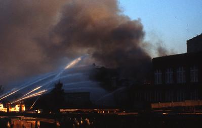 9/8/1980 - BOSTON, MASS - 5TH ALARM BUILDING 19 IN THE CHARLESTOWN NAVY YARD