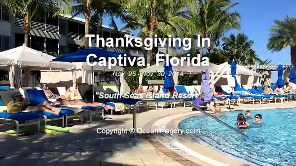 20141130 Captiva, FL. - Thanksgiving In Captiva Video