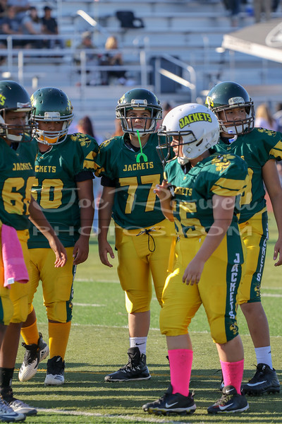 2018 - Stockton Jr. Jackets vs. Tracy Raiders - Varsity