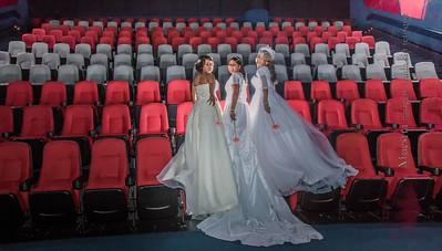 Sesion de Lucia y Moroni en el Cine