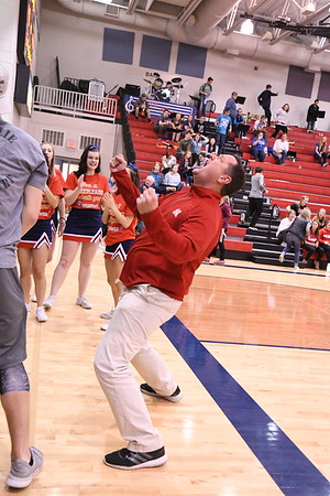 Student Crowd - Bennington Basketball game