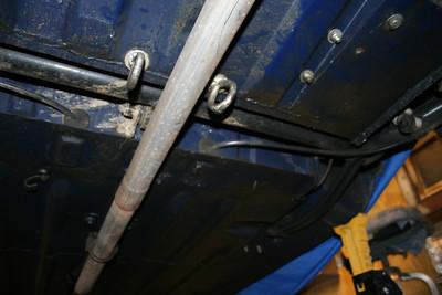 Sonett V4 Chassis and Suspension work