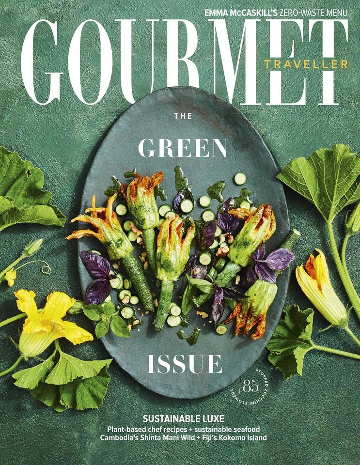 Gourmet Traveller February 2020 (photo credit: Gourmet Traveller magazine)