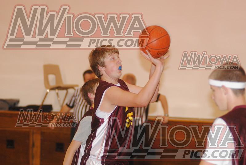 8th Grade Boys Basketball vs South O'Brien 11/12/2012