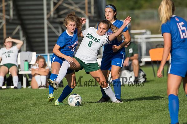 2021-9-2 WHS Girls Soccer vs Central
