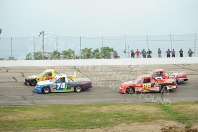 ASA Midwest Truck Tour Heat Races & Feature