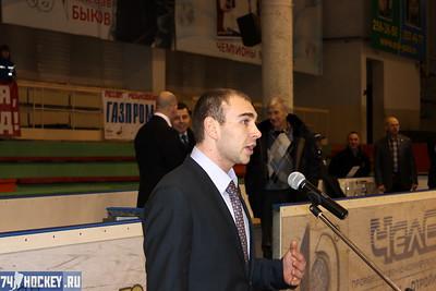 Открытие финала чемпионата России среди команд 1997-го года рождения. 21 марта 2012