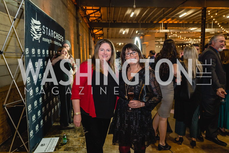 Denise Odell Jessica Mumbulo. 2018 StarChefs Tasting Gala & Awards Ceremony. December 11, 2018. Elyse Cosgrove Photography.ARW