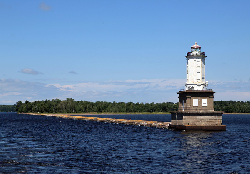 Marquette Harbor light.  We're off to Sault Ste. Marie.