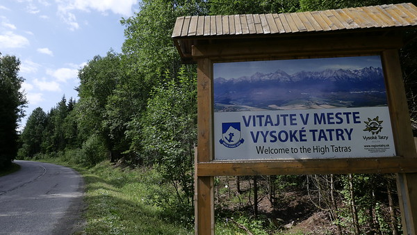 Slovakei Velo Tag2 - Fr 12.7.19: Podbanske - Tatranska Lomnica / 44km