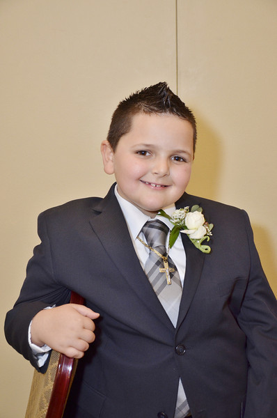 Joseph's First Holy Communion