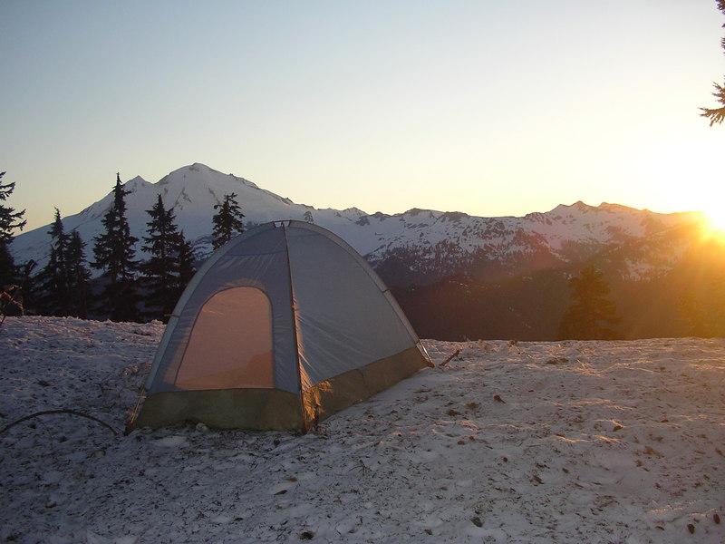 Doc's campsite.
