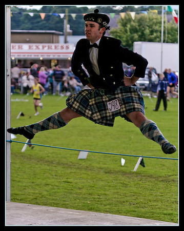The 2008 Crieff Highland Games