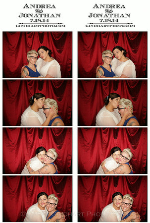 Andrea and Jonathan's Indiana Landmarks Photo Booth!