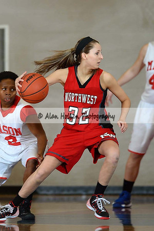 Girls Varsity Basketball - Northwest at Mason