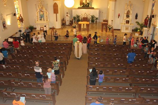 May Crowning - Faith Formation May 2015
