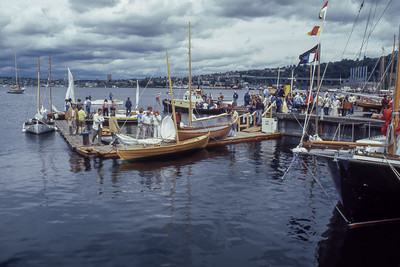 The Seattle Wooden Boat Show 1977