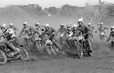 Vintage  Dirt Bike Racing