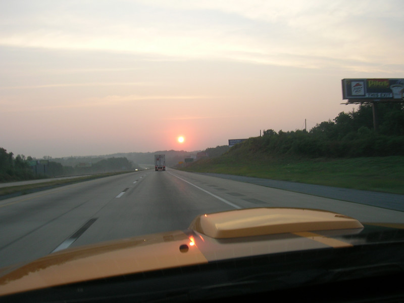 A grabber orange sunrise