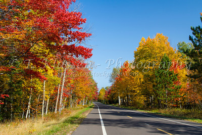 Upper Peninsula Highways and Byways in Autumn