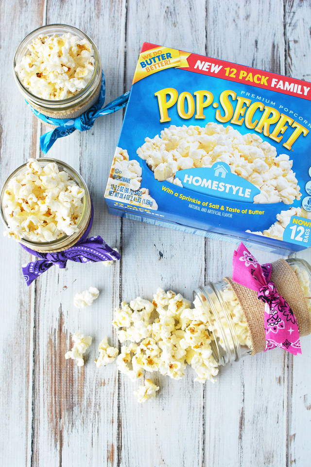 Make these cute Spirit Riding Free party favors for a horse-themed party. Also for centerpieces and pencil cups for back to school! #Pop4Spirit #Pmedia #ad