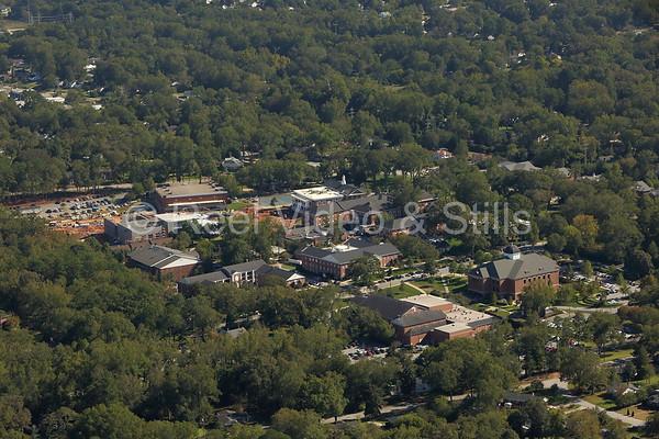 Anderson University Aerials - Oct 2015