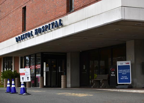 4/8/2020 Mike Orazzi | StaffrBristol Hospital in Bristol on Wednesday afternoon.