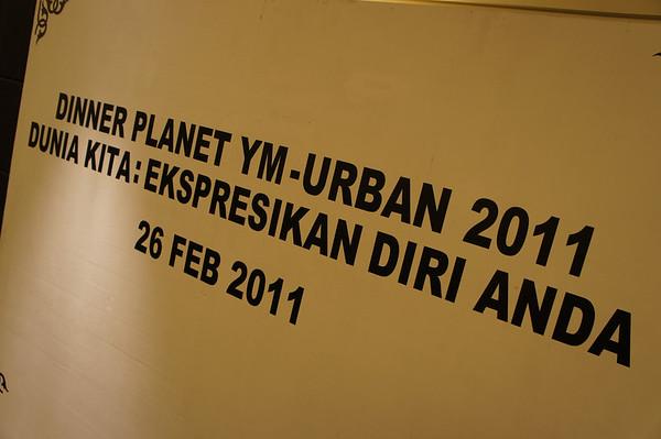 Planet YM-Urban Dinner, 26 February 2011