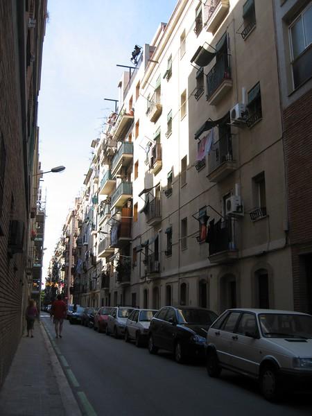 Residential side street