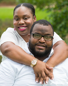 Jamail Williams  & JaValya Engagement/Family Shoot