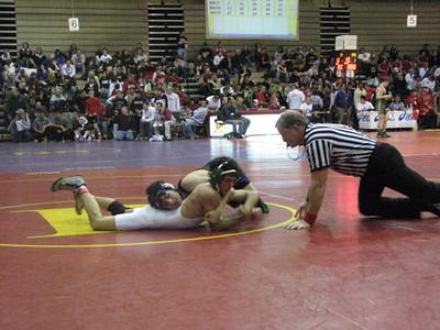 2007-2008 Varsity Wrestling at Brecksville Holiday Tournament