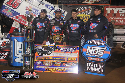 Williams Grove Speedway - National Open - 10/3/20 - Troy Junkins