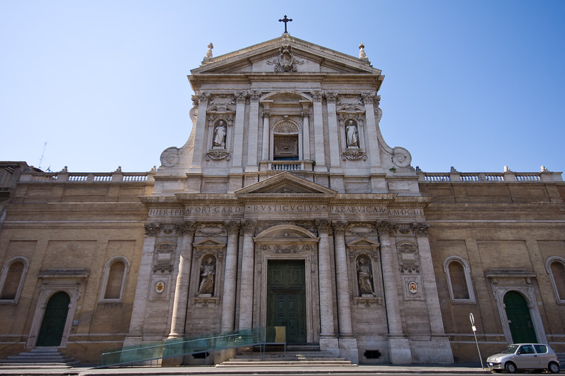 Another Church in Rome...