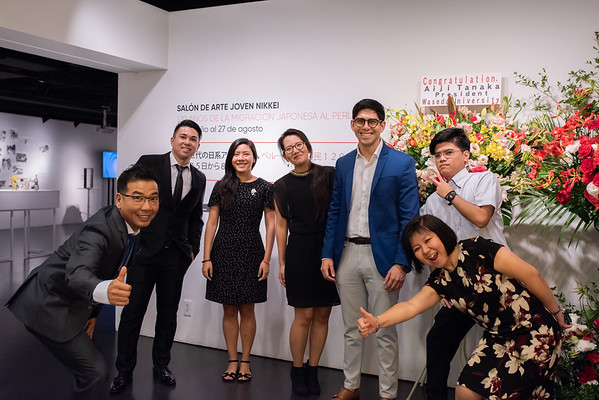 2019-07-25, Inauguración Salón de arte joven Nikkei