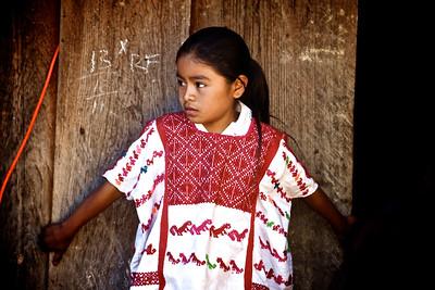 Mixtec Indian Girl - Guerrero, Mexico
