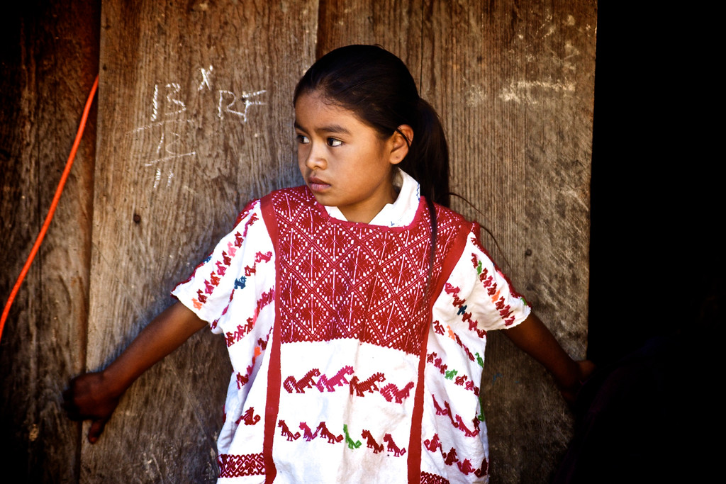 Mixtec Indian Girl - Guerrero, Mexico