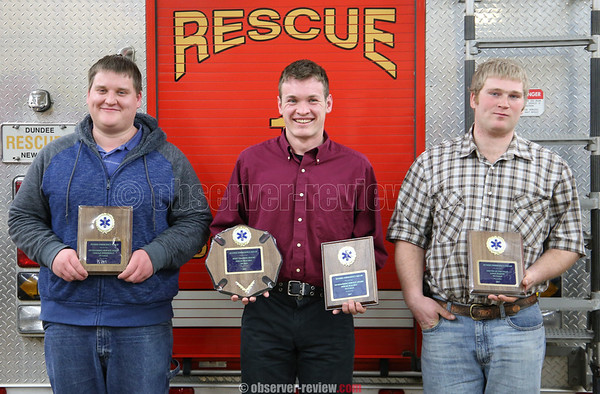 Dundee Fire Dept. Awards 1-26-18