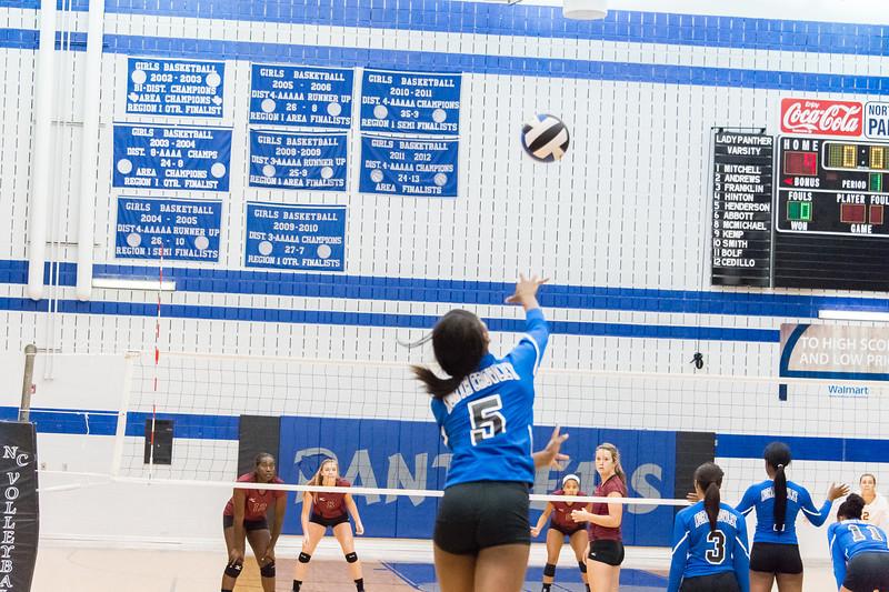 Varsity Volleyball vs  Keller Central 08_13_13 (191 of 530)