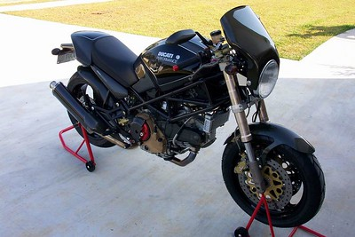 "'99 Ducati M900S Monster ""Carbonster"""